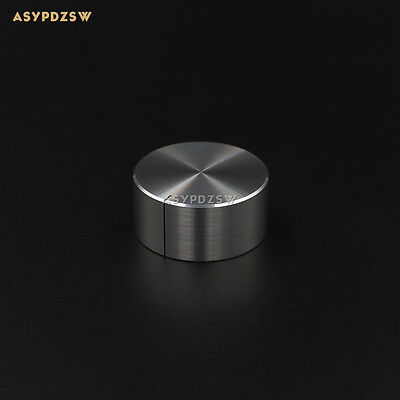 1 PCS HIFI Full aluminum silver 32*15 Amplifier/DAC volume potentiometer knob