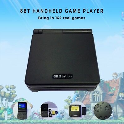 XMAS GIFT Mini Retro Handheld Game Player 142 Games Portable Video Game Console