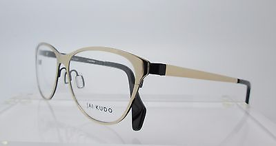 55519cbd40 JAI KUDO 561 Eyeglass Frames Glasses Womens Optical Gold -  34.99 ...