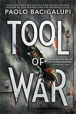 Tool of War by Paolo Bacigalupi Hardcover Book Free Shipping!
