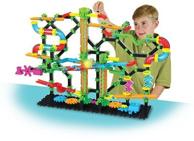 Marble Run Construction 350 Colorful Pieces LED Sound Learning FunMania Xcelerat