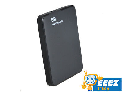 "WD Elements | 1TB Portable | External Hard Drive | USB 3.0 | Schwarz | 2,5"" HDD"
