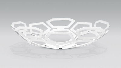 Original Audi Collection Metal Bowl White - Made in Germany- 3291101200 - NEW