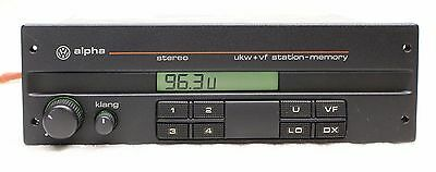 vw autoradio alpha mit cassette eur 3 00 picclick de. Black Bedroom Furniture Sets. Home Design Ideas