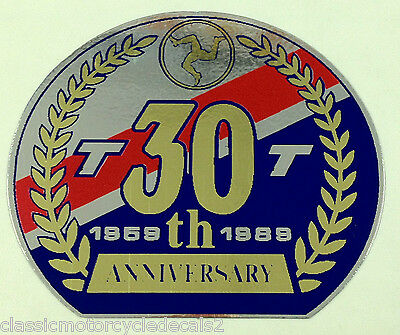 Honda Nc30 Vfr400R Rc30 Vfr750R 30Th Anniversary Tt Screen Decal