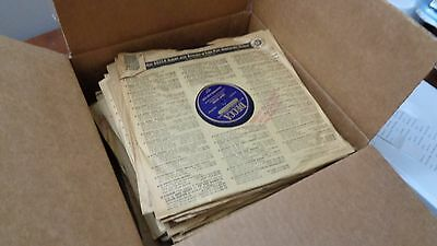 "Lot of 50 Vintage 78 RPM? Records 10"" Diameter Mercury RCA MGM Victor Various"