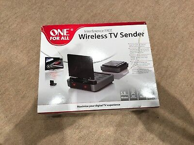 One For All Sv1730 Interference Free Wireless Tv Sender Multi Room Screen Share