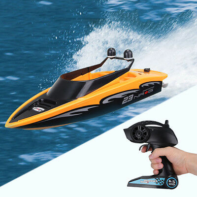 Kids Radio Remote Control 2.4Ghz High Speed Wireless RC Racing Boat Electric Toy