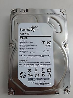 "Seagate NAS HDD 3To - Disque dur interne 3.5"" - *NEUF*"