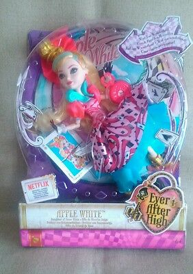 Ever After High Way Too Wonderland Apple White Bnib