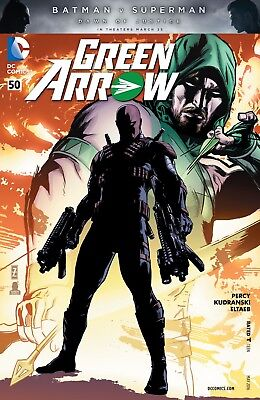 Green Arrow #50 (2016) 1St Printing Dc Comics