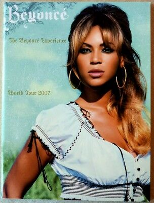 Beyonce, The Beyonce Experience World Tour 2007 Program,near Mint Condition!