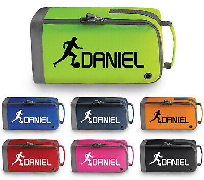 Personalised Childrens Football Boot Bag Kids Sports Footy Gym Pe Kit Gift