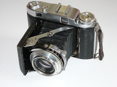 BALDA SUPER BALDAX. 6x6cms FORMAT. FOLDING COUPLED RANGEFINDER.  FILM TESTED.