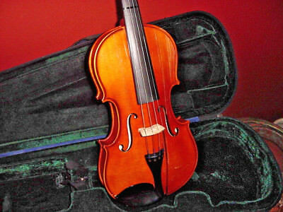 """Vintage Knilling Violin 4/4 14"""" Sinfonia Perfection Pegs Fiddle"""
