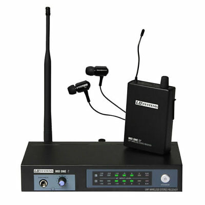 LD Systems MEI ONE Series Wireless In-Ear Monitoring System (Pack ONE - Fixed Fr
