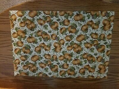 Longaberger Pumpkin Patch placemats, for Table NEW,   SET of 4
