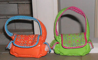 Two 1/12Th Scale Dolls' Shoulder Bags