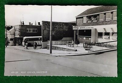 Halstead    Post Office    Essex    Rp   Old Postcard