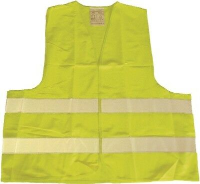High visibility vest/Safety vest Warning yellow in accordance with DIN EN 471