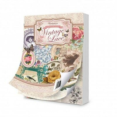 Hunkydory Little Book of Vintage Lace - 144 pages
