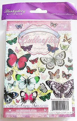 Hunkydory Little Book of Jewelled Butterflies - 144 pages