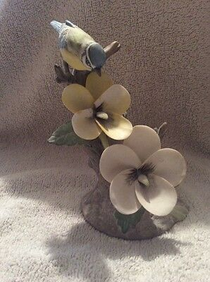 Vintage Royal Osborne Bone China Bird Figurine