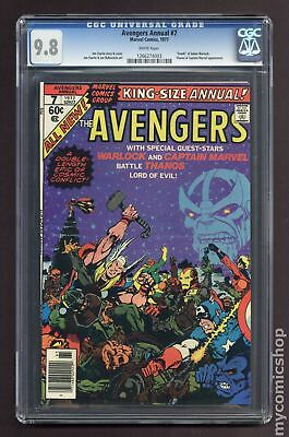 Avengers (1963 1st Series) Annual #7 CGC 9.8 1266274003