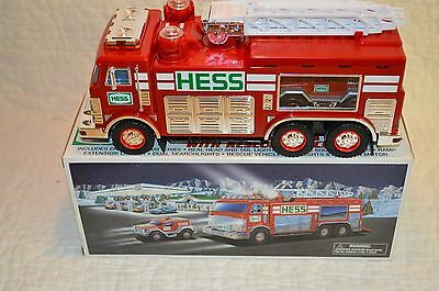 2005 Hess emergency truck with rescue vehicle NIB
