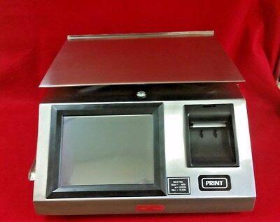Tor Rey WLS-40L Digital Price Computing Label Printing Scale