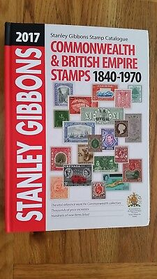 Stanley Gibbons 2017 Commonwealth & Empire Stamp Catalogue In Mint Condition