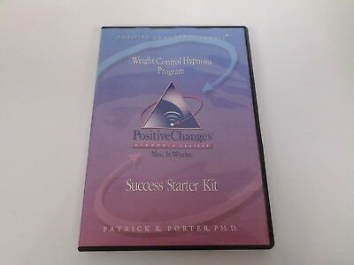 POSITIVE CHANGES HYPNOSIS Centers SUCCESS STARTER KIT Weight Control  Program CDs