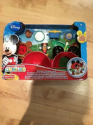 Fisher-Price Mickey Mouse Clubhouse Disney Campground Playset New (7)