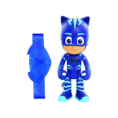 Pj Masks Cat Boy Blue Hero Light Up Character Figure With Childrens Wristband