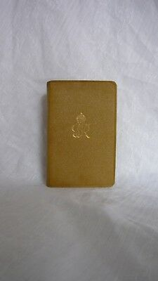 WW2 Soldiers Bible 1939 Message King George VI