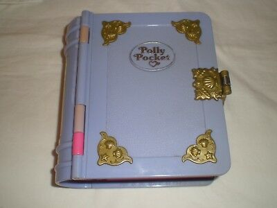 Polly Pocket Sparkling Purple Mermaid Book With Doll