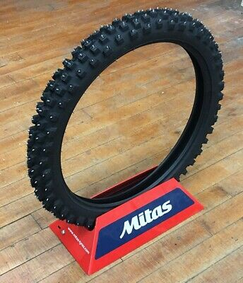 Mitas Studded Winter Motorcycle Tire Pro XT-434 Tire Front 80/100-21 300 21 NEW