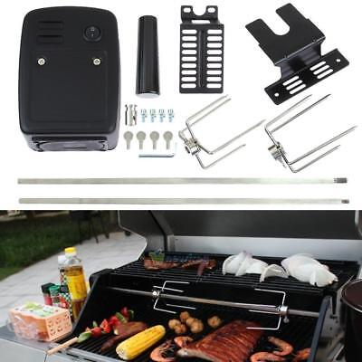 240v Electric Operated Stainless Steel Universal Rotisserie Kit- BBQ Rotisserie