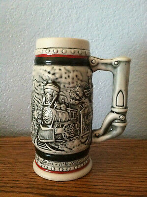 Avon stein with trains - 1985 (small)