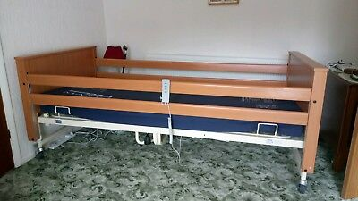 Adjustable Mobility bed and mattress, head and feet move up and down, MK40