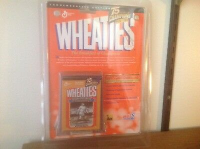 Babe Ruth Wheaties 24K Gold Signature New Collectible 75 Year ('24-'99)