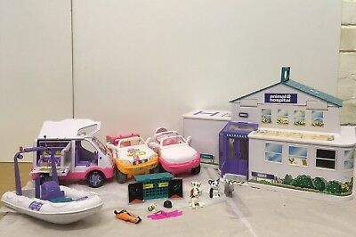 RSPCA Animal Hospital Play Set With Ambulance, Cars And Boat. Lights And Sounds.