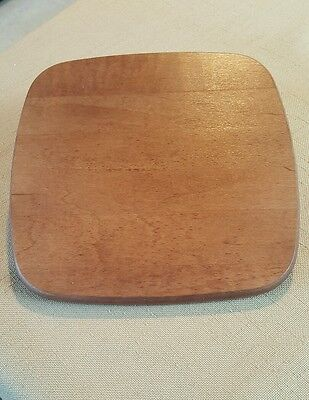 """Longaberger - Lid - Brown - 7""""x6.5"""", rounded corners. Never used."""