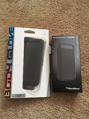 Lot of Two New Blackberry Classic Cases