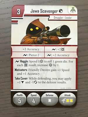 Star Wars Imperial Assault - Elite Jawa Scavenger Campaign Deployment Card