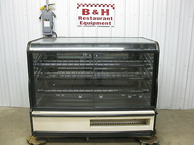 "CSC 63"" Glass Two Dr 2 Door Self Serve Bakery Donut Display Show Case 5' 3"""