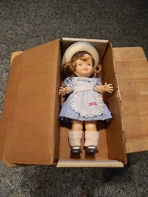 Little Debbie Doll  by Horsman 25th Anniversary with original shipping box  1984