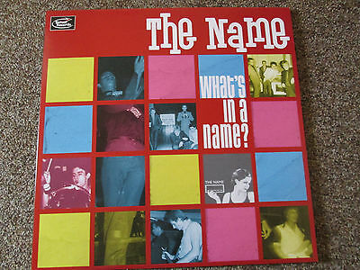The Name - What's In A Name? LP pink wax (100 copies made) mod punk the chords