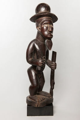 Bembe Male Bilongo Power Figure, D.R. Congo, Zambia, African Tribal Statue