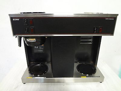 """"""" BUNN """" HEAVY DUTY POUR OVER COUNTER TOP COMMERCIAL COFFEE BREWER w/ 3 WARMERS"""